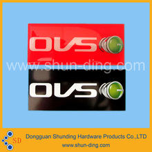Custom Clear 3D Adhesive Dome Embossing Epoxy Sticker