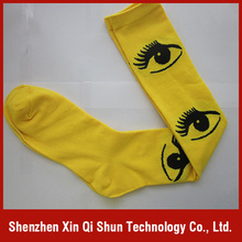 Cheap price custom socks, Knitted sublimation printing baby socks