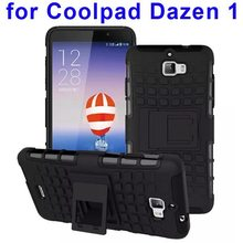 2 In 1 Hybrid Silicon Case Cover for Coolpad Dazen 1 Mobile Phone Case