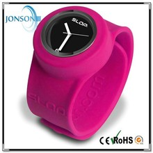 New Cute Silicone Slap Watches for Girls Boys 2015