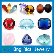Wholesale/Customize/Factory price loose glass gems/glass stone