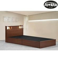 Elegante de madera de la cama, venta caliente de la cama queen/modelos de madera cama