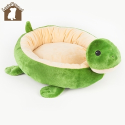 Cartoon pets Tactic golden cat dog plush toy bed