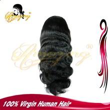 100% Unprocessed Brazilian Virgin Hair body wave Full Lace Human Hair Wig