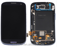 Replacement LCD assembly with frame For Samsung galaxy s3 I747 i9300