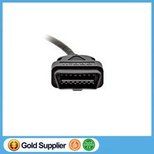 ECU Connecting Line ELM327 OBD2 Extension Cable ELM 327 OBD Car Diagnostic Interface Male To Female 1.5m Wire