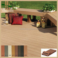 CE Certificated Hollow WPC Decking