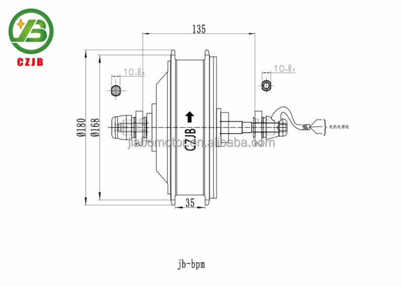 JIABO JB-BPM 400w electric dc motor