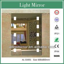 2013 hot fashion full solid wood dressing mirror illuminated bath mirror exterior mirror panel