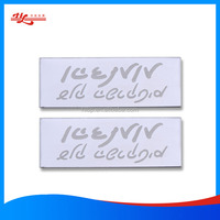 custom name tag maker with self-adhesive