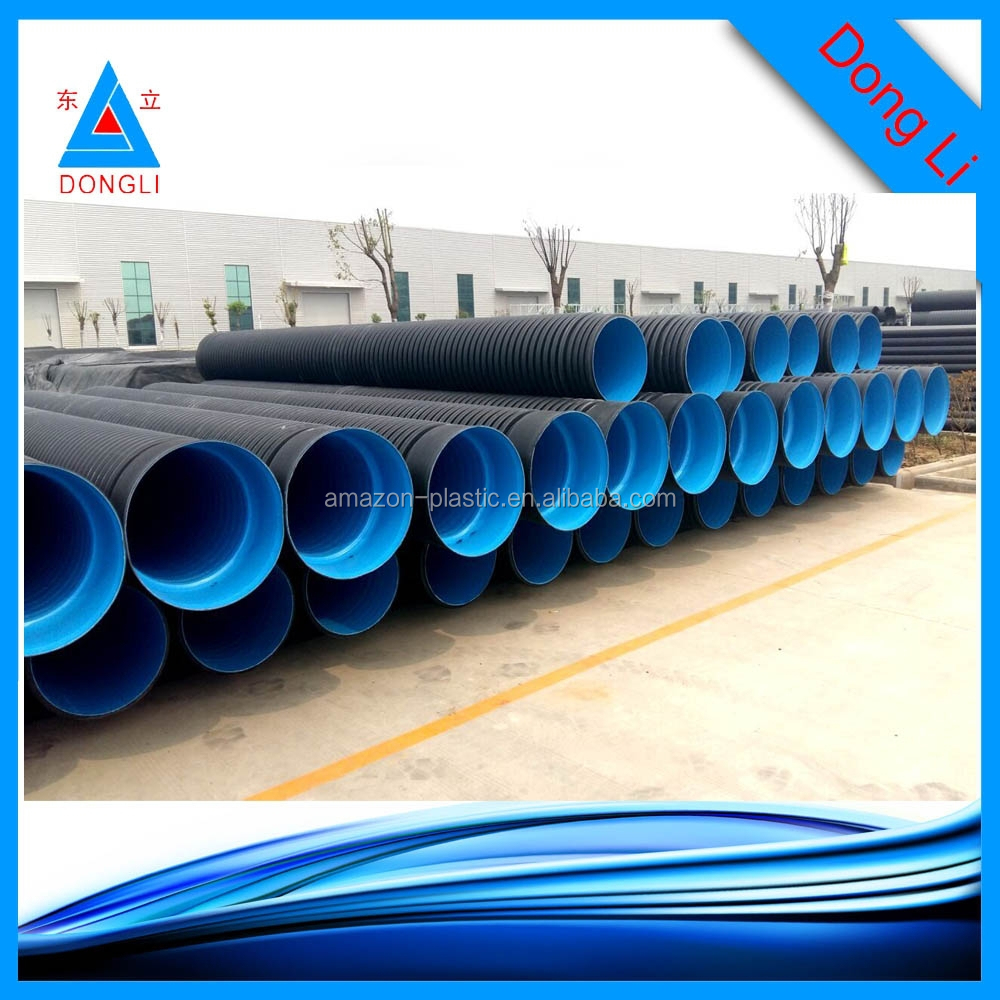 Hdpe corrugated plastic drainage pipe price buy for Buy plastic pipe