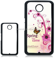 Wholesale china supplier sublimation cheap cellphone cases for Google Nexus 6 xt1100