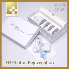 as seen on tv led light Vibration led photon face mask 633nm skin care facial massager