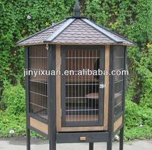Wooden Hexagonal Rabbit House for Sale / Rabbit Hutch Pet Cage