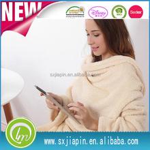 Top level hot sell travel/tv fleece blanket
