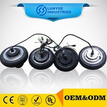 24V 350W small size electric dc wheel hub motor