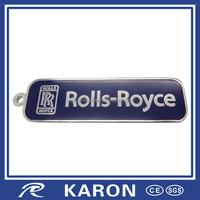 good quality custom metal name keychain in China