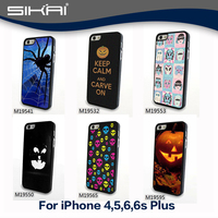 Hallowmas Hard Plastic Case For iphone 4 5 6 6s Fashion Back Cases Skin