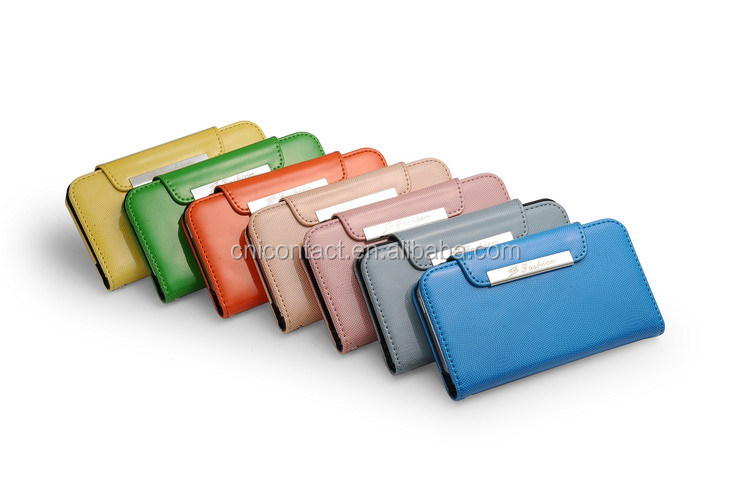 magnetic phone protective case Leather Cases For Samsung Galaxy Note2