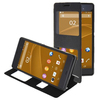 Oracle Texture Flip Leather Case for Sony Xperia Z3 Cover with Caller ID Window