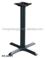 Cross-shaped Wrought Iron Dining Table Base Table Leg Furniture Leg HS-A069 Metal Hardware For Funiture