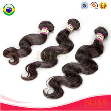 6a Grade Wholesale Human Hair Extension, 100% Virgin Brazilian Hair Extension New York/Hair Piece