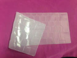 2015 new product0.3mm Japanes layout silicone keyboard skin for new macbook 12''