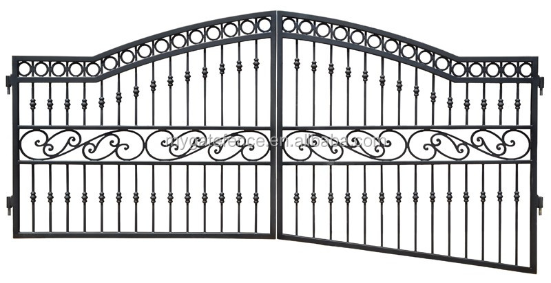 Modern Iron Gate Designs,Main Gate Design Home Backyard Iron Gate ...