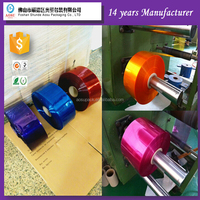 Guangzhou POF/PE/PVC heat shrink film /clear heat shrink plastic film in roll