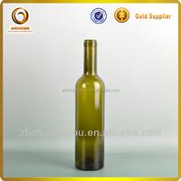 500ml bordeaux mini glass liquor bottle wholesale wine empty glass bottles