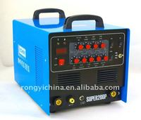 Shanghai Rongyi Mosfet Inverter Multi-function AC/DC Pulse TIG/MMA/CUT welding machine SUPER200P