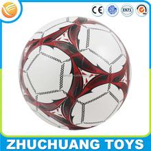 Mini promocional inflable para niños juego suave del balón de fútbol pvc