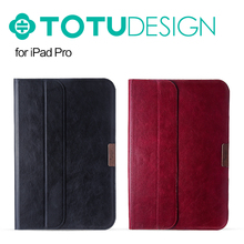 Original TOTU Gentleman Series PU Leather Bag Case For iPad Pro Super Slim Luxury Leather pouch Case Bag MT-4859