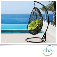 Hanging basket cheap hanging chair/Rattan basket outdoor swing rocking chair /Indoor hanging chair