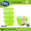 Liquid container, PP cup, round plastic container with screw lid