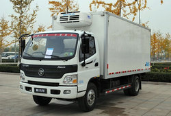 4x2 Foton Truck Price / Box Refrigerated Truck