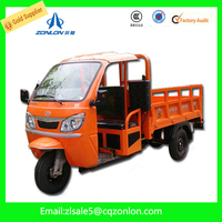 250cc Three Wheel Motorcycle Made In China Cargo Tricycle For Loading