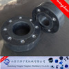 COMPACT EPDM RUBBER JOINT WITH INTERNAL FLANGES