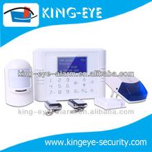Alarma para el hogar sin cables con pantalla táctil LCD, sistema de alarma para el hogar Smart GSM