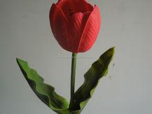 wholesale artificial PU tulip flowers ,single elegant flowers