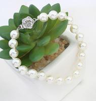 2015 new arrival new arrival black pearl bangel racelet jewelry luxury pearl jewelry for bride