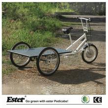 3 Wheel Flatbed Cargo Trike