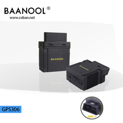 obd ii tracker gps 306 , internal GSM/GPS antenna obd sim card gps tracker with diagnostic function fuel monitor