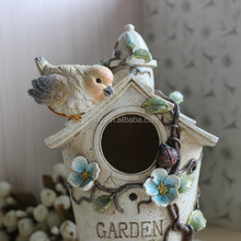 Flower and birds resin for Decoration house welcome gifts Round Shape