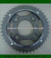 Dajin 1045 steel bajaj pular chain sproket kit/motorcycle rear sprocket/sprocket