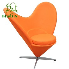 2015 Hotselling Furniture Heart Shaped Cone Chair