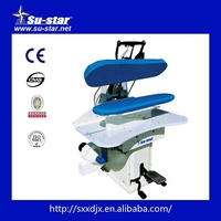 commercial laundry steam press