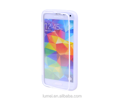 Flip TPU Silicone Gel High Quality Touch Screen Cover Case For Samsung Galaxy S5