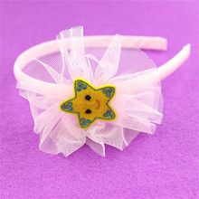free sample hot sale cotton latest hair accessories volume