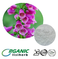 Manufacturer supply Best quality heart medicine Digitalis extract Digoxin 98% by HPLC